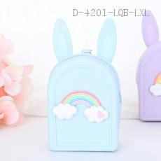 Rainbow Pattern Wallet 6pcs/bag 9.5*7*4cm