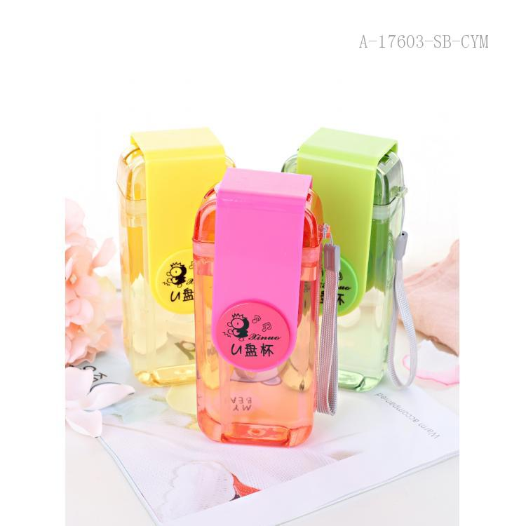 8600 USB Water Cup PC 16.5*4*7cm 300ml