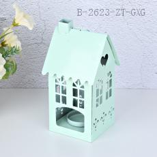 WST-002 House Candle Holder 8*8*16cm