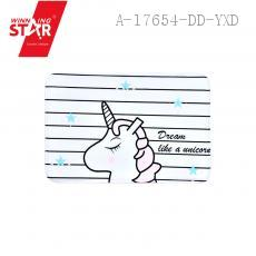 Cartoon Unicorn Pattern Floor Mat 40*60cm 1.2cm