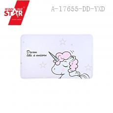 Cartoon Unicorn Pattern Floor Mat 50*80cm 1.2cm