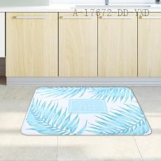 Leaves Pattern Floor Mat 50*80cm 1.2cm