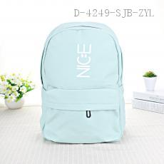 English Letter Pattern Backpack 39.5*27.5cm