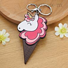 Ice Cream Unicorn Key Chain 11*6cm 12pcs/bag