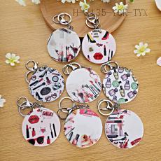Makeup Product Pattern Key Chain 7cm 12pcs/bag
