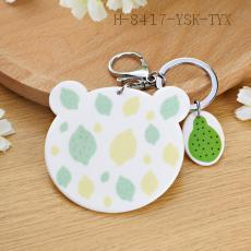 Lemon Pattern Key Chain 10*8cm