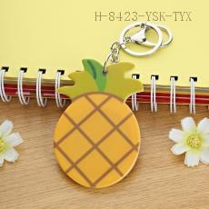 Pineapple Key Chain 8.5*5.5cm 12pcs/bag