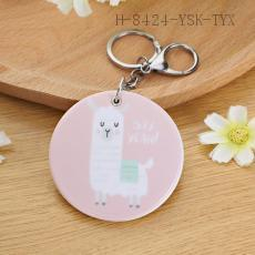 Alpaca Pattern Key Chain 7cm 12pcs/bag