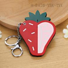 Strawberry Key Chain 9*7cm 12pcs/bag