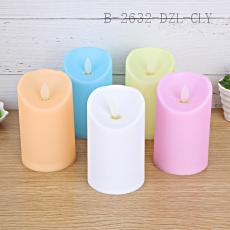 Candy-color Electric Candle 12*7.8cm