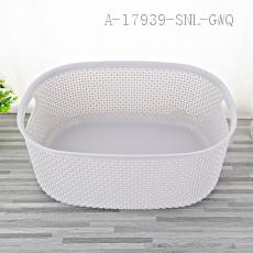 1818 Medium Storage Basket PP 38*28*15cm