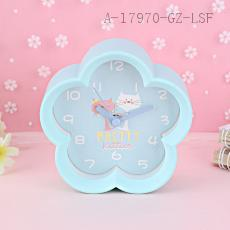 MHT657B Plum-shaped Clock 10.5*4.6*10.2cm