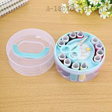 Round Needle and Thread Box Set 12*8*11.5cm