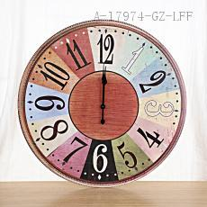 Star Pattern Clock 58cm