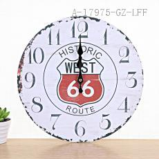 Flower Pattern Clock 33cm