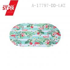 8805 Flamingo Pattern Floor Mat PVC 36*37cm