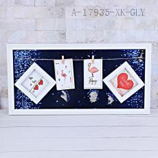 30*60 Sequins Photo Frame