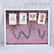 50*60 Sequins Photo Frame