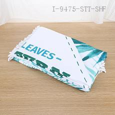 Leaves Pattern Beach Blanket 150cm 570G