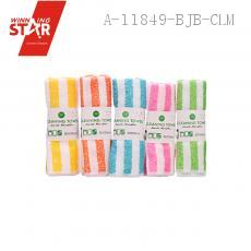 Two-colored Scouring Pad 30*30cm