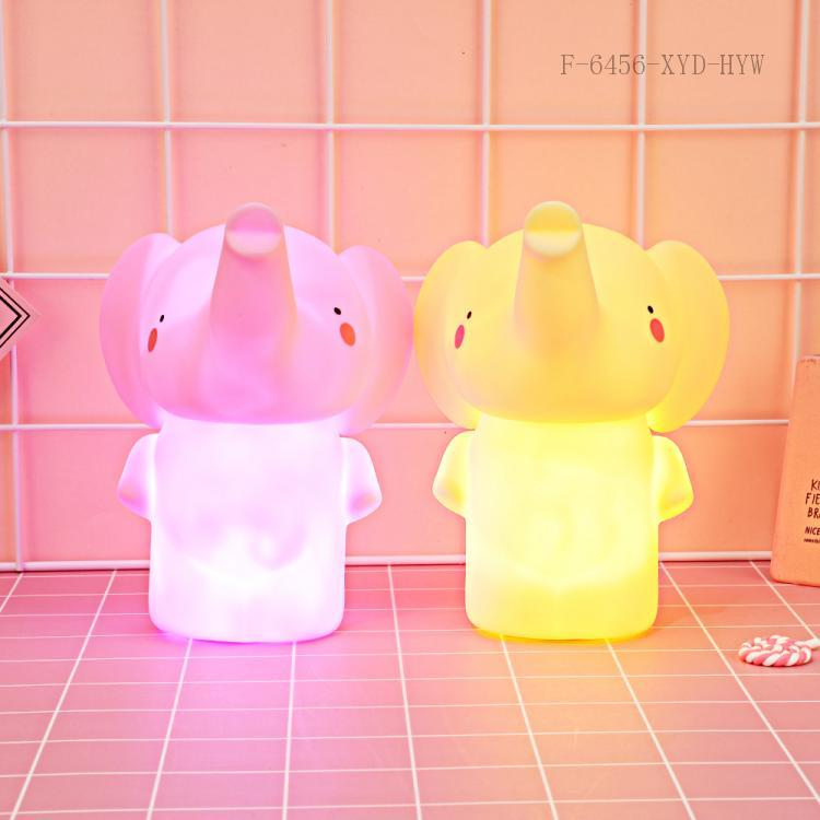 Elephant Night Light with colored box 15*13*11cm
