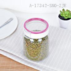 8863 Storage Jar PET+PP+AS 9.5*15.5*10.5cm 1000ml