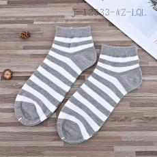 (s2149) Stripe Pattern Socks 2pcs/set