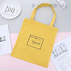 English Letter Pattern Bag 38*34cm