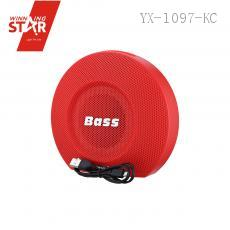 T-2359 Bluetooth Speaker with colored box 1200MA/18650 16.5*18.5*8.5