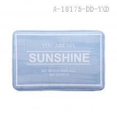 SUNSHINE English Letter Floor Mat 38*58cm