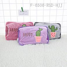 (LB-16) Cactus Pattern Hand Warmer 27*19cm Charging time:8-15M