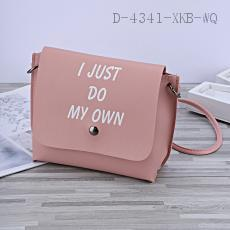5637 English Letter Bag PU 20*18cm