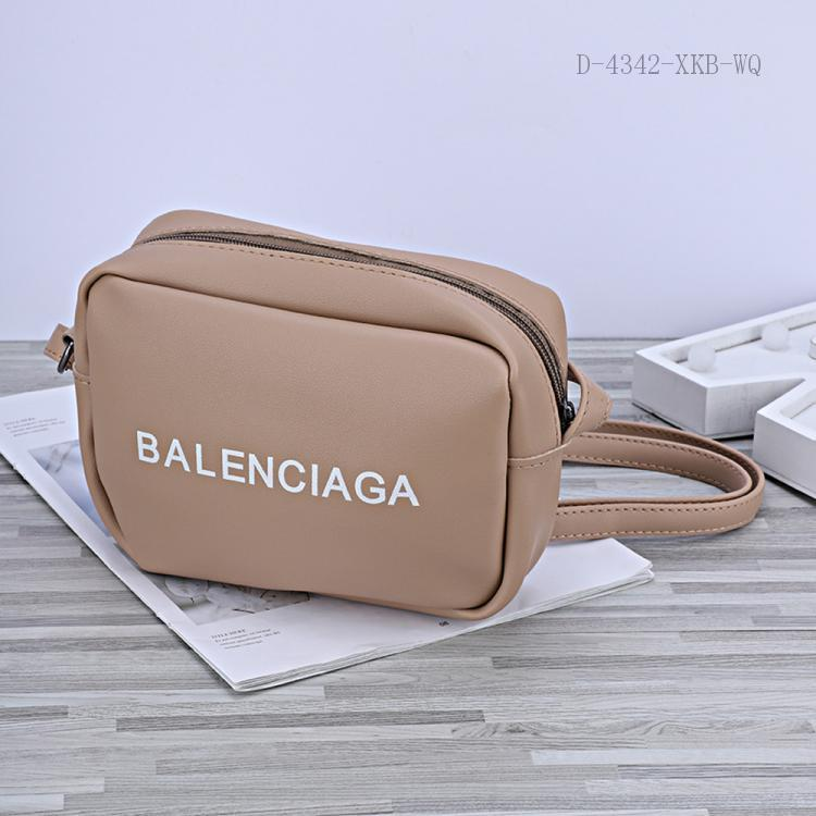 332 English Letter Pattern Bag PU 25*20cm