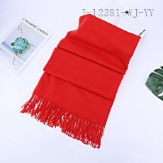 Plain Fashion Scarf 200*65cm 250g 10pcs/bag