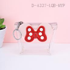 Transparent Wallet PU+PVC 12*9cm 12pcs/bag