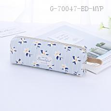 Rectangular Pencil Bag PU 18.5*4.8*6cm