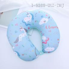 Unicorn Pattern U-shaped Pillow 26*25cm