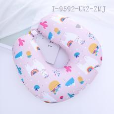 Alpaca Pattern U-shaped Pillow 30*30cm