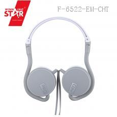 GJ-21 1.2M Earphone with pvc box ABS+TPE