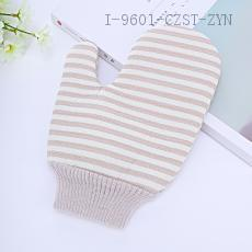 Stripe Pattern Shower Glove PE 21*15cm