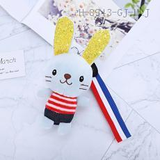 ANE-0208 Rabbit Pendant  19*8cm 12pcs/bag