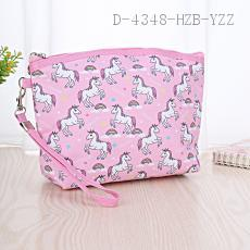 Medium Unicorn Pattern Cosmetic Bag 22*15*6cm
