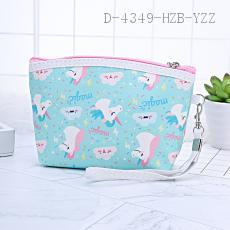 Unicorn Pattern Cosmetic Bag 18*12*5cm