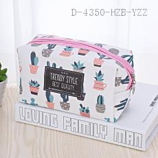 Cactus Pattern Cosmetic Bag 18*10*10cm