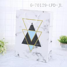 HS6852-1XL Large Marble Pattern Gift Bag 31*42*12cm