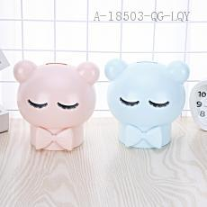 AP1546 Bowknot Money Box 12.8*14.3cm PS