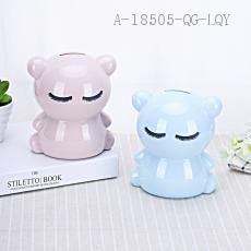 AP1611 Bear Money Box 13.5*12cm PS