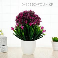 CYY-12 Plastic Potted Plant 26*15cm