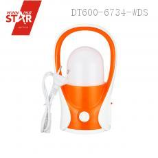 WD-846 Camping Lantern with colored box usb interface 21.6*10.5CM