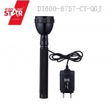 JY-8990 LED Torch Flashlight with colored box 21.5*4.2CM